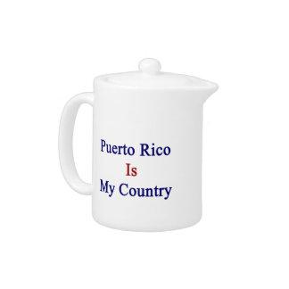 Puerto Rico es mi país