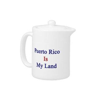 Puerto Rico es mi tierra