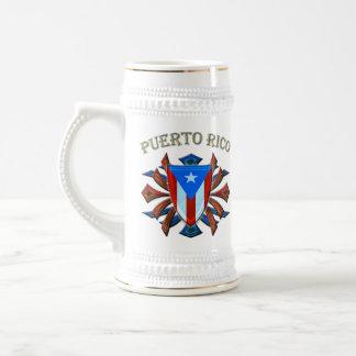 Puerto Rico - escudo Taza De Café