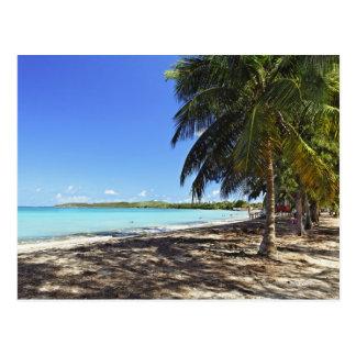 Puerto Rico, Fajardo, Culebra Island, Seven Seas Postcard