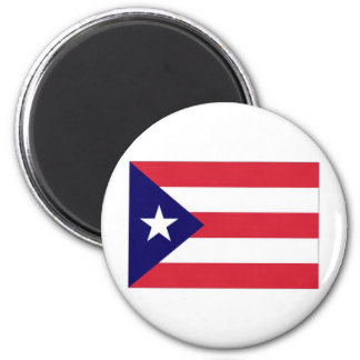 Puerto Rico Flag 2 Inch Round Magnet