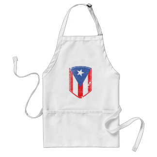 Puerto Rico Flag Adult Apron