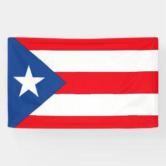 Puerto Rico Flag Banner
