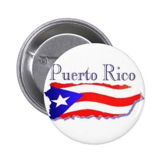 Puerto Rico Flag Boricua 2 Inch Round Button