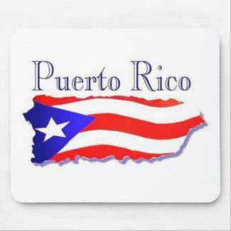 Puerto Rico Flag Boricua Mouse Pad