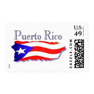 Puerto Rico Flag Boricua Postage Stamps