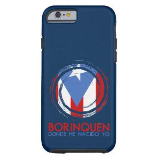Puerto Rico Flag Borinquen Tough iPhone 6 Case