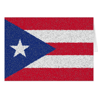 PUERTO RICO FLAG CARD