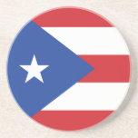 Puerto Rico Flag Coaster