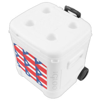 Puerto Rico Flag Cooler