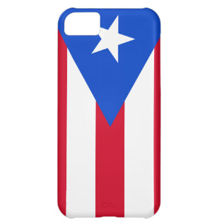Puerto Rico Flag Cover For iPhone 5C