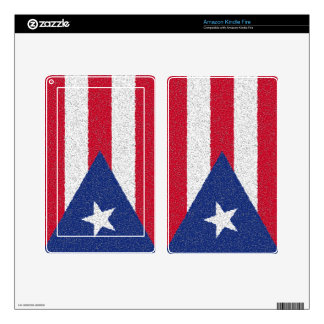 PUERTO RICO FLAG DECAL FOR KINDLE FIRE