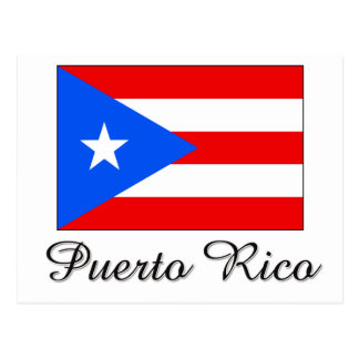 Puerto Rico Flag Design Postcard