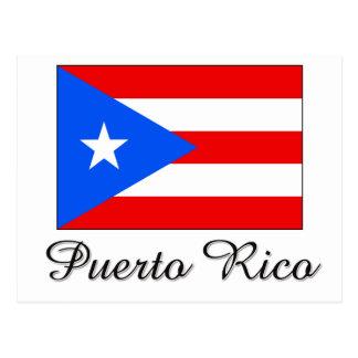 Puerto Rico Flag Design Postcard