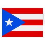 Puerto Rico Flag Greeting Cards