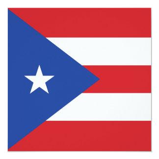 Puerto Rico Flag Invitation