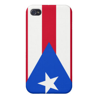 Puerto Rico Flag iPhone 4 Covers