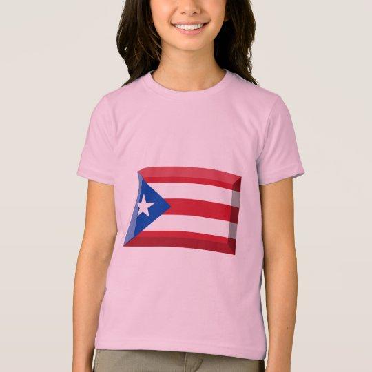 Puerto Rico Flag Jewel T-Shirt