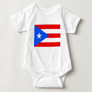 Puerto Rico flag jumpsuit for Puerto Rican baby Baby Bodysuit