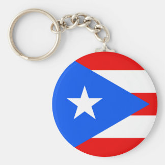 Puerto Rico Flag Keychains