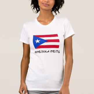 Puerto Rico Flag Ladies Petite T-Shirt