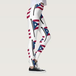 201de6c1b95a3 Women's Puerto Rico Leggings | Zazzle