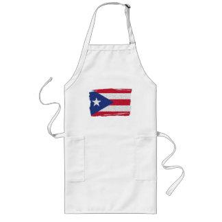PUERTO RICO FLAG LONG APRON