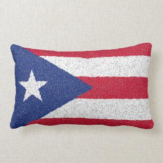 PUERTO RICO FLAG LUMBAR PILLOW