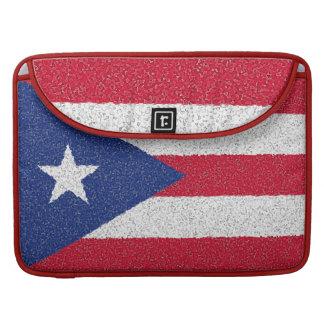 PUERTO RICO FLAG MacBook PRO SLEEVE