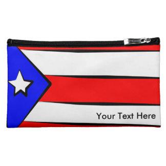Puerto Rico Flag Makeup Bag