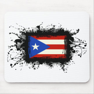 Puerto Rico Flag Mouse Pad