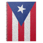 PUERTO RICO FLAG NOTEBOOK