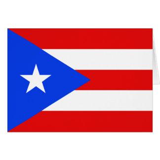 Puerto Rico Flag Notecard