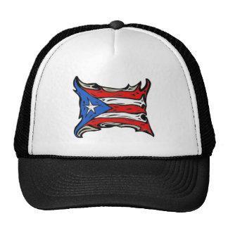 Puerto Rico Flag of Reggaeton Mesh Hat