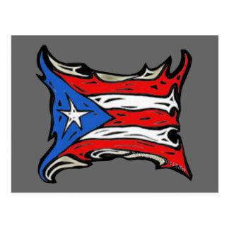 Puerto Rico Flag of Reggaeton Post Cards