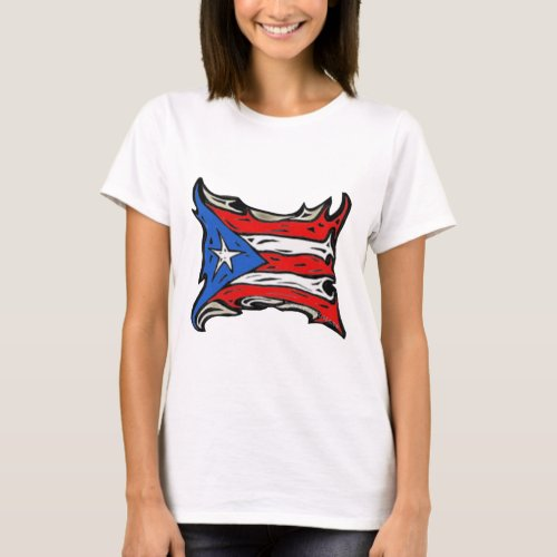 Puerto Rico Flag of Reggaeton T_Shirt