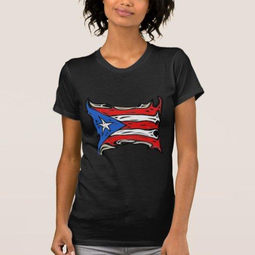 Puerto Rico Flag of Reggaeton T_Shirt