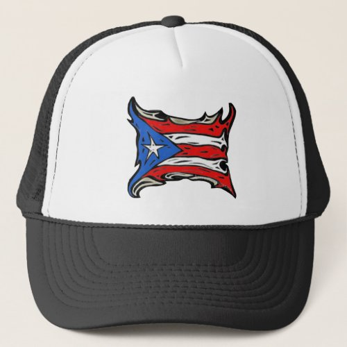 Puerto Rico Flag of Reggaeton Trucker Hat