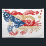 """Puerto Rico Flag Placemat<br><div class=""""desc"""">Original flag design looks like it was painted on! Commemorate your world travels, celebrate your heritage or show everyone how much you love your home! This image is available on a variety of products. Check out all of our other designs at http://www.zazzle.com/zipperedflags Do you have a request or questions? Contact...</div>"""