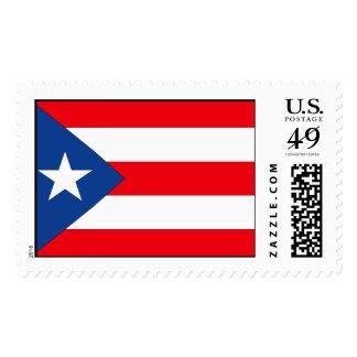 Puerto Rico Flag Stamp