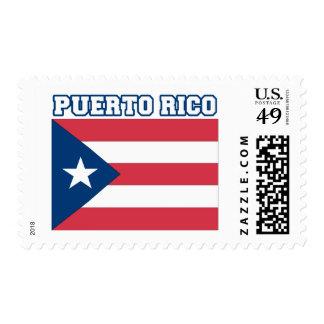 Puerto Rico Flag Postage Stamp