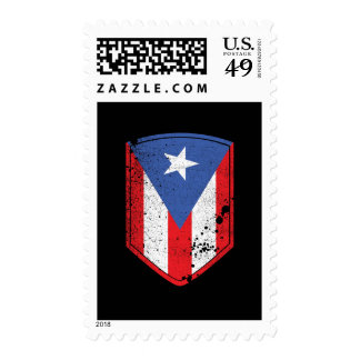 Puerto Rico Flag Postage Stamps