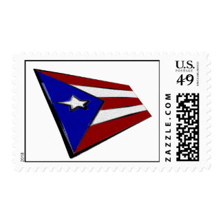 Puerto Rico Flag Postage