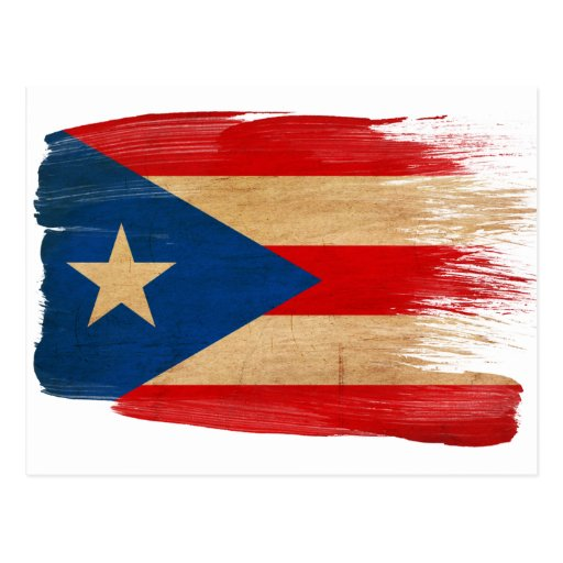 Puerto Rico Flag Postcards