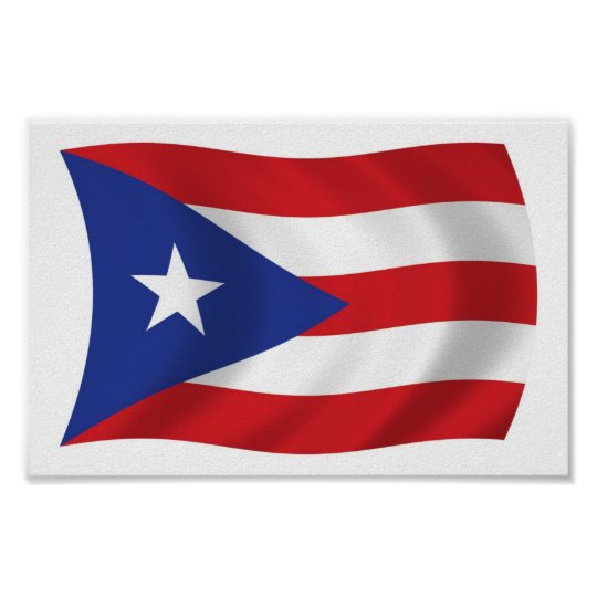 Insane image in printable puerto rican flag