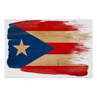 Puerto Rico Flag Posters