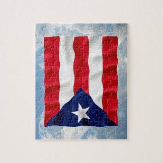 Puerto Rico Flag - Puzzle