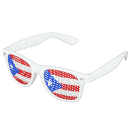 Puerto Rico Flag Retro Sunglasses