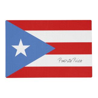 Puerto Rico Flag Reversible Placemat
