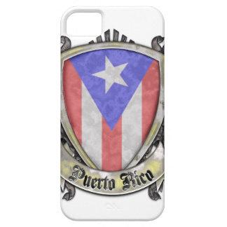 Puerto Rico Flag - Shield Crest iPhone SE/5/5s Case